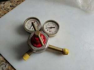 Smith Acetylene Regulator H1721b 510 400psi