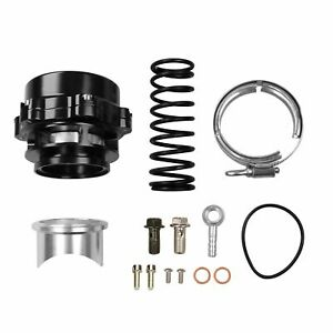 Car Turbo Blow Off Valve Bov Vband Flange Spring 5 80 18 85 Psi 50mm Black New