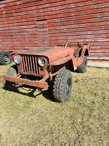 1946 Willys Cj2a Column Shift Vep Project