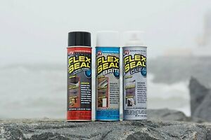 Flex Seal Spray Rubber Sealant Coating 14 oz Brite 6 Pack