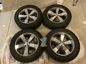 Jeep Grand Cherokee Overland 20 Wheels W duratrac Tires 275 55 R20