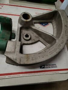 Greenlee 5018632 2 Emt Conduit Bender Die Shoe 1818 Ed4u auc