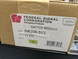 Federal Signal Sw300 012 Light Control Switch Module Box