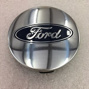Single Center Cap 3 Ford F 150 Expedition Polished Oem Fl34 1a096 Fa