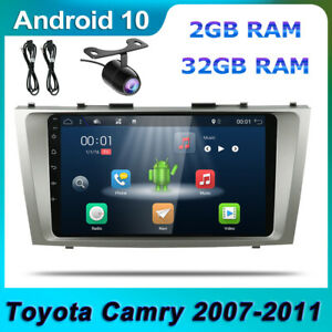 Android 10 Indash Gps Car Stereo For Toyota Camry 2007 2011 Head Unit Wifi Usb