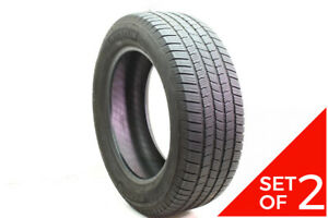Set Of 2 Used 275 55r20 Michelin Defender Ltx Ms 113t 7 32