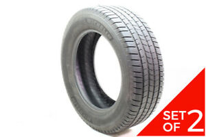Set Of 2 Used 275 60r20 Michelin Defender Ltx M s 115t 6 5 32