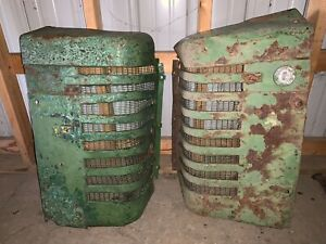 John Deere Styled G Gm Front Grill Grille Grills Grilles Set Gw Gn Gh