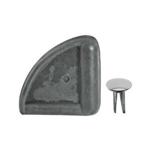 Model A Ford Hood Corners Molded Rubber Includes Rivets 28 21682 1