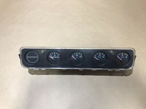 Jeep Wrangler 92 95 Yj Dash Instrument Center Gauge Cluster 56004888 Free Ship