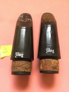Bay Clarinet Mouthpiece Two Piece Lot