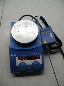 Ika Rct Basic Hot Plate Stirrer With Ets D4 Control Model Rct B S1 S n 318297