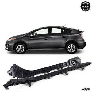 For 2010 2015 Toyota Prius 2pcs Rear Bumper Bracket Support Driver Passenger Set