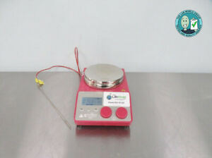 Chemglass Optimag St Digital Magnetic Hotplate With Probe W Warranty See Video