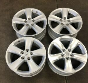 Set Of 4 Used 17x7 Toyota Camry Oem Factory Wheels 2007 2010