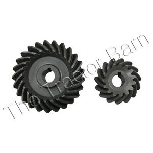 Fan And Governor Gear And Pinion Set John Deere B 50 Ab3706r B2637r B289r