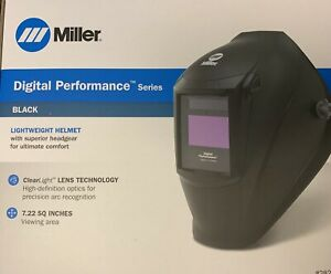 Miller Electric 282000 Welding Helmet Auto Darkening Helmet Digital Elite