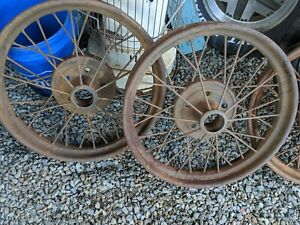 Model T Ford Wire Wheels 1926 1927