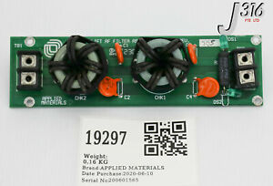 19297 Applied Materials Pcb Assembly Chamber Lift Rf Filter parts 0100 00694