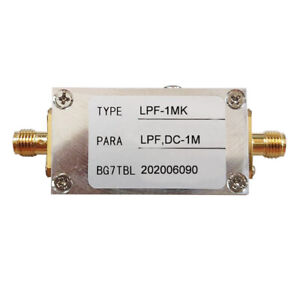 1m Rf Low Pass Filter Lpf Filter Ham Radio Low Pass Filter Module 50 Ohm Sma