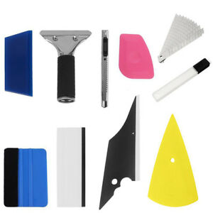 8 In 1 Squeegee Window Tinting Car Film Application Wrapping Tools Kit Us Stock