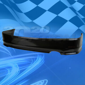 For 06 08 Honda Civic Coupe Hfp style Polyurethane Pu Rear Bumper Lip Spoiler