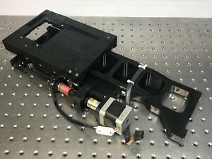 Parker Oem Linear Actuator Stage 3 Travel W Stepper Motor Sub Micron Encoder