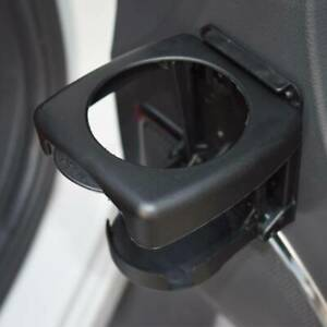 Universal Auto Car Folding Beverage Drink Cup Bottle Holder Stand Mount Black