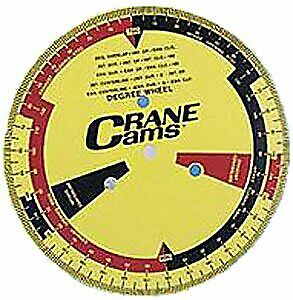 Crane Cams 99162 1 Degree Wheel With Adapters