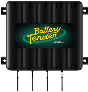 Battery Tender 1 25 Amp 4 Bank Battery Charger 12v Battery Charging Bank