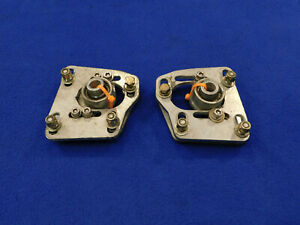 1994 To 2004 Mustang Gt Cobra Caster Camber Plates Pair Good Used Take Off C66