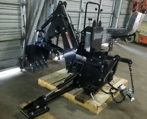 New Tractor 3 point Backhoe Attachment Ie Rear Three 3 Point Pto Excavator W Bu