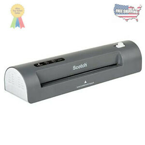 Scotch Thermal Laminator 2 Roller System For A Professional Finish Tl901x
