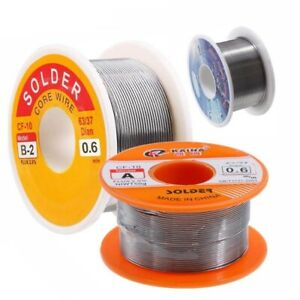 Solder Wire Roll 2mm Iron Flux 2 Tin Welding Normal Melt Rosin Core Electrical