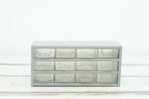 Vintage Parts Drawers Stackmaster Industrial Parts Bins Metal Storage Drawers
