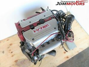 Jdm K20a Type R Honda Accord Euro R Tsx Cl7 Engine 6 Speed Lsd Transmission Ecu