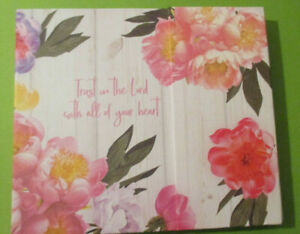 Undated Weekly Planner 240 Pink Flowers Bible Sticky Notes Memo 70 Pad Usa