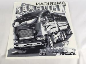 Lot Of 11 American Truckers Heat Transfers 12 x14 Free Shipping