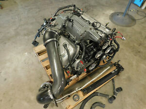 03 04 Ford Mustang Cobra 4 6l Dohc Engine Assembly Good 91k Take Out D16