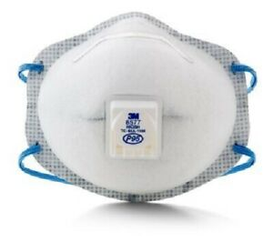 1 Box Of 10 Each 3m 8577 P95 Particulate Respirator see Listing And Pictures