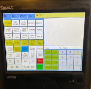 sps 2000 Easily Configured Pos Touch Screen System Designed For Reliability