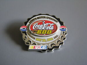2006 COCA-COLA 600 LOWE'S MOTOR SPEEDWAY CHARLOTTE NASCAR RACING EVENT HAT PIN
