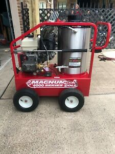 Magnum 4000 Series Gold Hot Water Pressure Washer