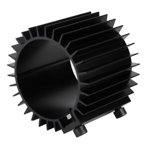 Engine Oil Filter Cooler Heat Sink Cover Cap Billet Aluminum Alloy Black Fitting