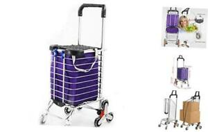 Nobrand Shopping Cart easily Collapsible And Portable To Save Space And Heavy Du
