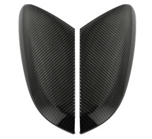 Carbon Fiber Side View Mirror Replacement Cover Cap For 2016 2020 Honda Civic