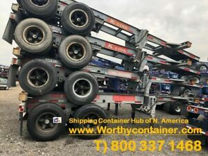 20 40 45 Shipping Container Chassis For Sale Premium Cargo Worthy cw