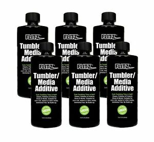Flitz TA 04885-6A Tumbler Media Additive 7.6 oz. Bottle 6-Pack $94.21