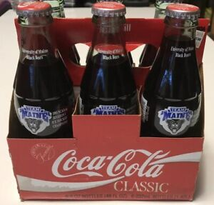 University Of Maine Coca-Cola 6 Pack  1993 NCAA Ice Hockey Champions~SHIPS FREE