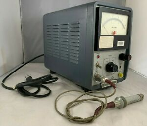 Hp 428b Clip On Dc Milliammeter With Clip Probe Test Meter